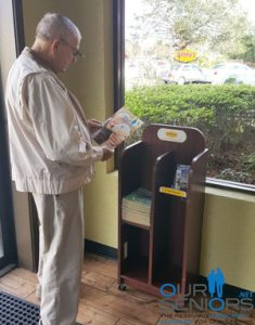 OurSeniors.net Magazine at Denny's in Volusia and Flagler